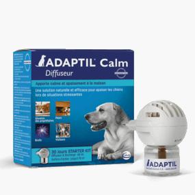 Adaptil Calm diffuseur - Solution naturelle pour réconforter chien chiot