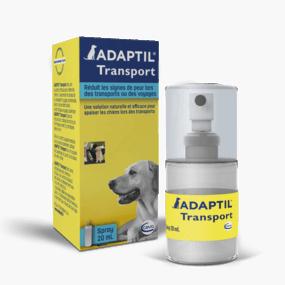 Santé animale - Adaptil transport - Spray anti-stress